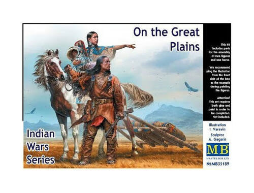 Master Box On the Great Plains,Indian Wars Series 1:35 (35189)