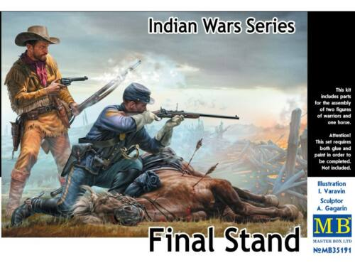 Master Box Final Stand, Indian Wars Series 1:35 (35191)