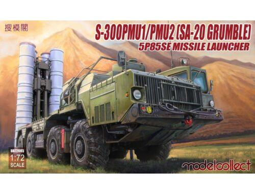 Modelcollect S-300PMU1/PMU2(SA-20 Grumble) 5P85SE Missile launcher 1:72 (UA72085)