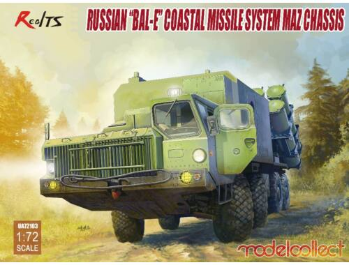 "Modelcollect Russian""Bal-E""mobile coastal defense missila luncher w.Kh-35 anti-ship cruise 1:72 (UA7"