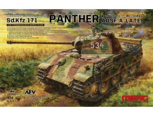 Meng Sd.Kfz.171 Panther Ausf.A Late 1:35 (TS-035)