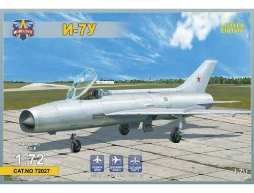 Modelsvit I-7U Supersonic interceptor prototype 1:72 (72027)