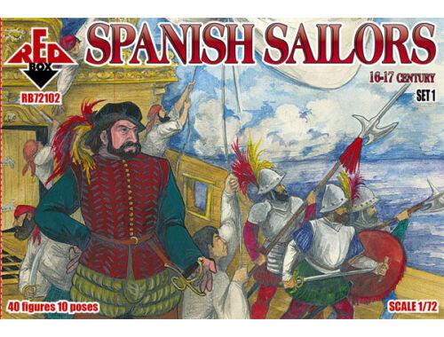 Red Box Spanish Sailors, 16-17th century 1:72 (72102)
