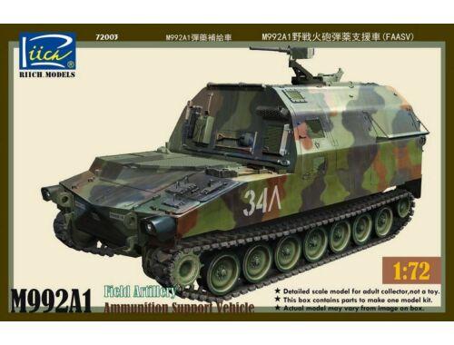 Riich M992A1 Field Artillery Ammunition Suppor Vehicle(FAASV) 1:72 (RT72003)