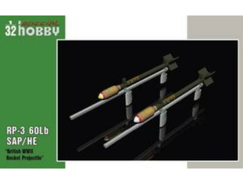 Special Hobby British WWII Rockets 1:32 (32075)