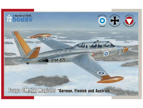 Special Hobby Fouga CM.170 Magister German, Finnish and Östereich 1:72 (72373)