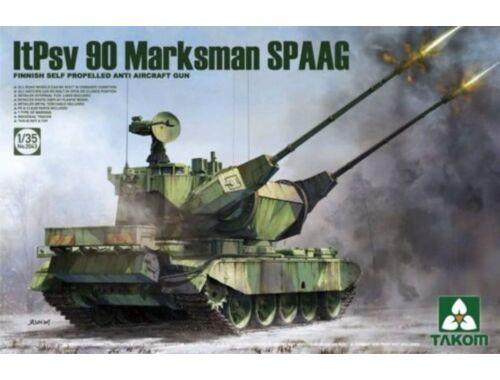 Takom Finnish SPGun ItPsv 90 Marksman 1:35 (2043)