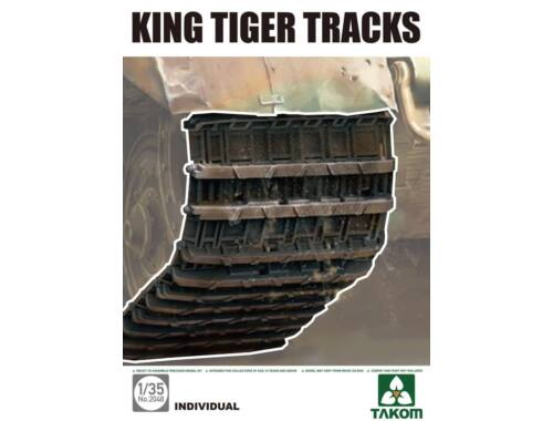 Takom KING TIGER TRACKS 1:35 (2048)