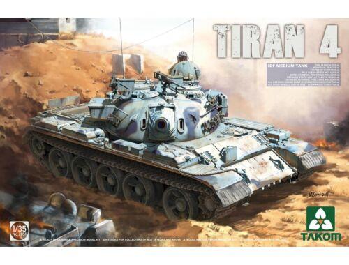 Takom IDF Medium Tank Tiran-4 1:35 (2051)