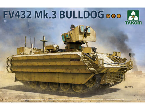 Takom British APC FV432 Mk.3 Bulldog 2 in 1 1:35 (2067)