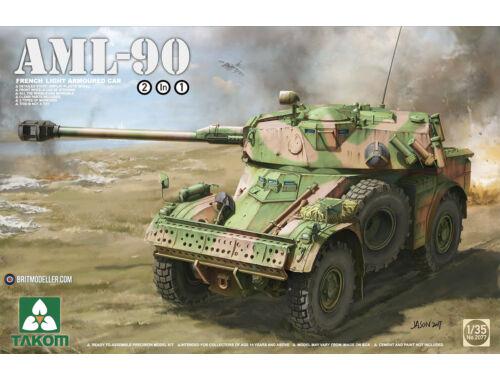 Takom French Light Armoured Car AML-90 1:35 (2077)