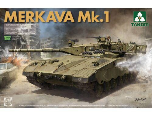Takom Israeli Main Battle Tank Merkava 1 1:35 (2078)