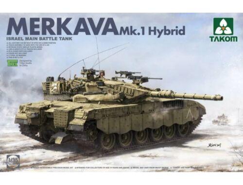 Takom Israeli Main Battle Tank Merkava 1 Hybrid 1:35 (2079)