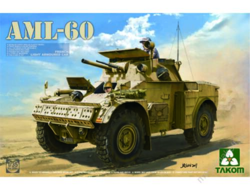 Takom French Light Armoured Car AML-60 1:35 (2084)