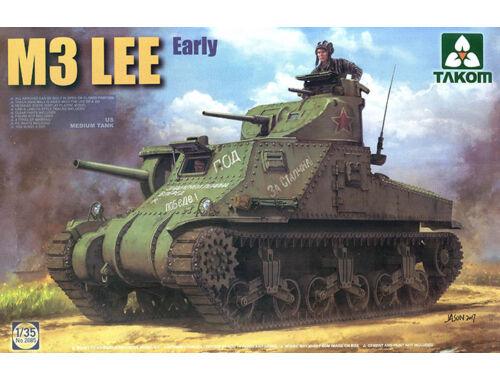 Takom US MEDIUM Tank M3 LEE EARLY 1:35 (2085)