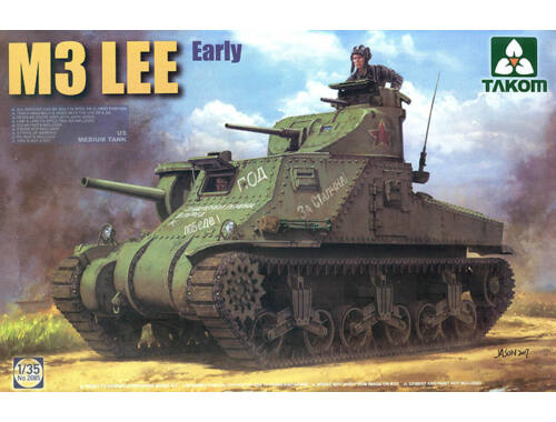 Takom US MEDIUM Tank M3 LEE EARLY 1:35 (2085)