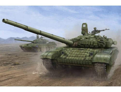 Trumpeter Russian T-72B/B1 MBT(w/kontakt-1 reactiv armor) 1:16 (00925)