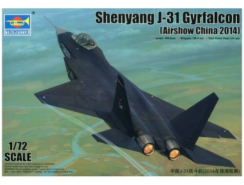 Trumpeter Shenyang J-31 Gyrfalcon 1:72 (01666)