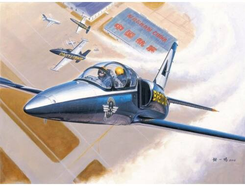 """Trumpeter L-39C Albatros """"Breitling"""" 1:48 (5804)"""