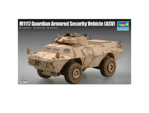 Trumpeter M1117 Guardian Armored Security Vehicle (ASV) 1:72 (07131)
