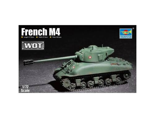 Trumpeter French M4 1:72 (07169)