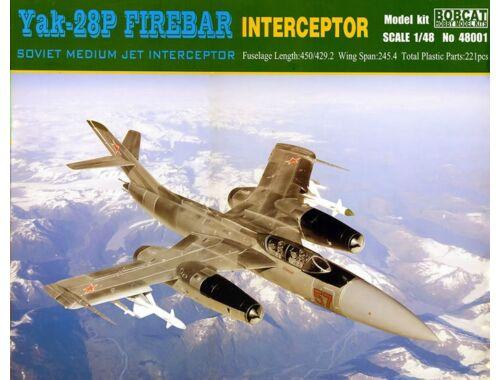 Bobcat Yak-28P Firebar Interceptor 1:48 (48001)