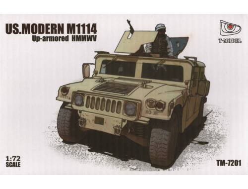 Thunder Model M1114 Up-armored HMMWV 1:72 (TM-7201)
