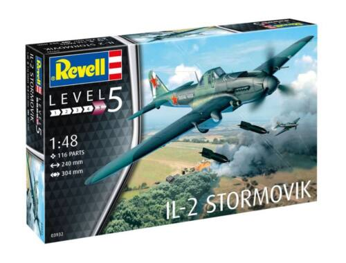 Revell IL-2 Stormovik 1:48 (3932)