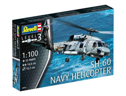 Revell SH-60 Navy Helicopter 1:100 (4955)
