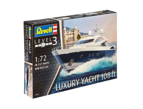 Revell Luxury Yacht 108 1:72 (5145)