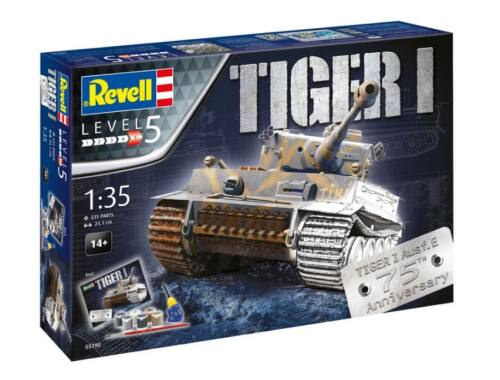 Revell Gift Set 75 xears Tiger I. 1:35 (5790)