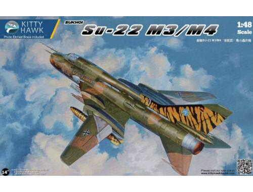 Kitty Hawk Sukhoi Su-22 M3/M4 Fitter F 1:48 (80146)