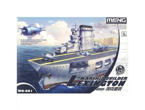 Meng Lexington Warship Builder (WB-001)