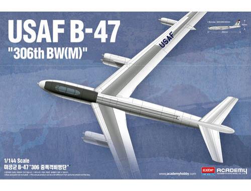 """Academy B-47 USAF """"304th BWM"""" 1:144 (12618)"""