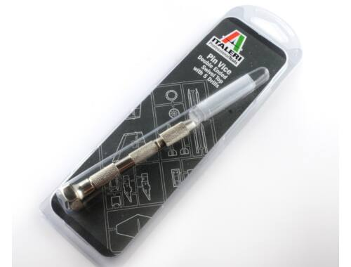 Italeri Pin Vice with 5 Drills - kézi fúró (50831)