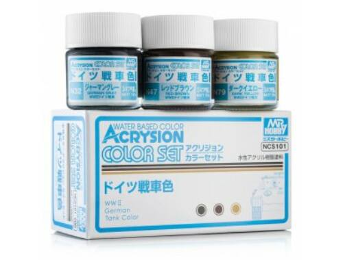 Mr.Hobby Acrysion Color Set German Tank NCS-101