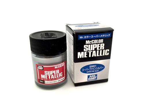 Mr.Hobby Mr.Color Super Metallic SM-01 Super Chrome