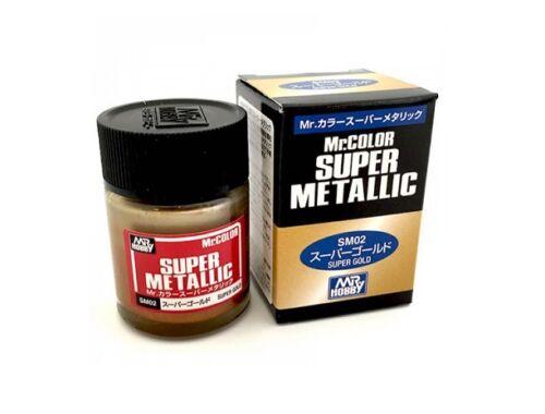 Mr.Hobby Mr.Color Super Metallic SM-02 Super Gold