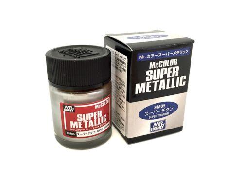 Mr.Hobby Mr.Color Super Metallic SM-05 Super Titanium
