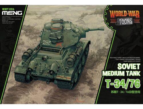 Meng Soviet Tank T-34/76 WW Toons Model (WWT-006)