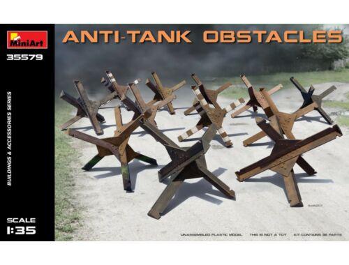 Miniart Anti-tank Obstacles 1:35 (35579)