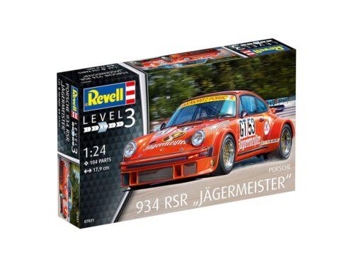 Revell Porsche 934 RSR Jagermeister 1:24 (7031)