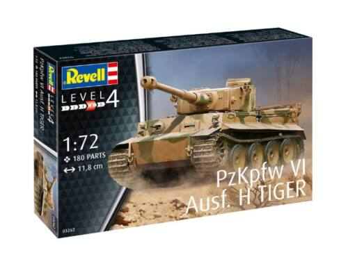 Revell PzKpfw VI Tiger Ausf. H 1:72 (3262)