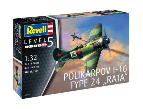 Polikarpov I-16 modell 24-es típus,Revell