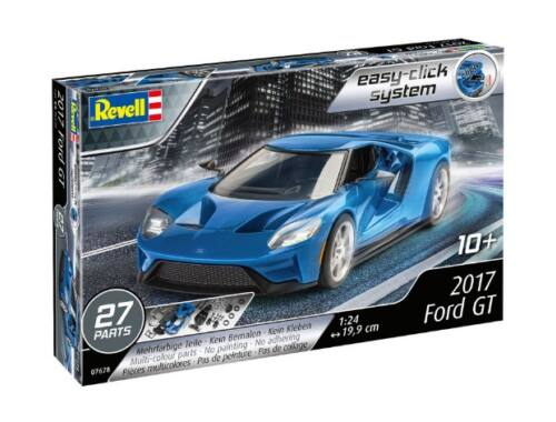 Revell 2017 Ford GT (easy click) 1:24 (7678)
