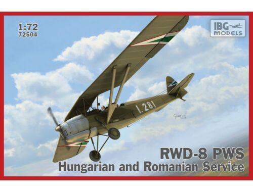 IBG RWD-8 Hungarian and Romanian service 1:72 (72504)