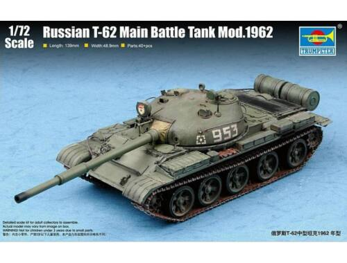 Trumpeter Russian T-62 MBT Mod.1962 1:72 (7146)
