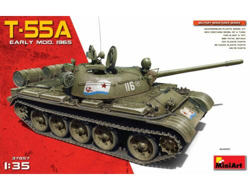 Miniart Soviet T-55A Early Prod. 1965 1:72 (37057)