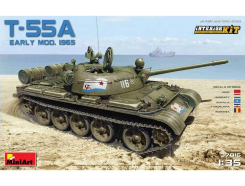 Miniart Soviet T-55A Early Mod. 1965 Interior Kit 1:35 (37016)