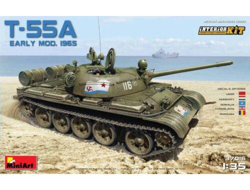 Miniart Soviet T-55A Early Mod. 1965 Interior Kit 1:35 (37016)